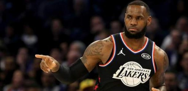 LeBron James, sportif de l'année 2020 du Time Magazine