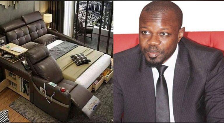PASTEF Chine offre un lit de massage à Ousmane SONKO (photos)